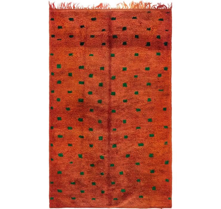122cm x 198cm Moroccan Rug