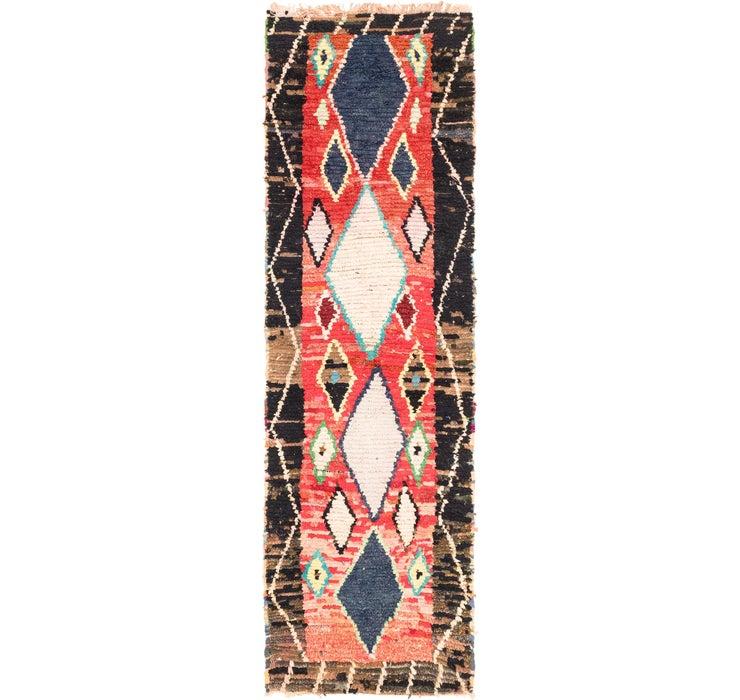3' 2 x 11' 6 Moroccan Runner Rug