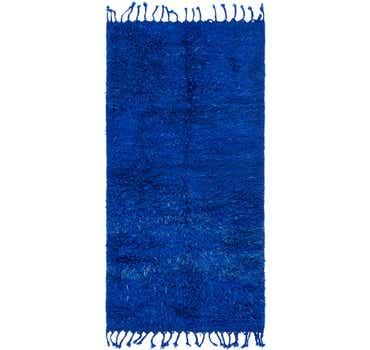 Image of 3' 5 x 6' 10 Moroccan Runner Rug
