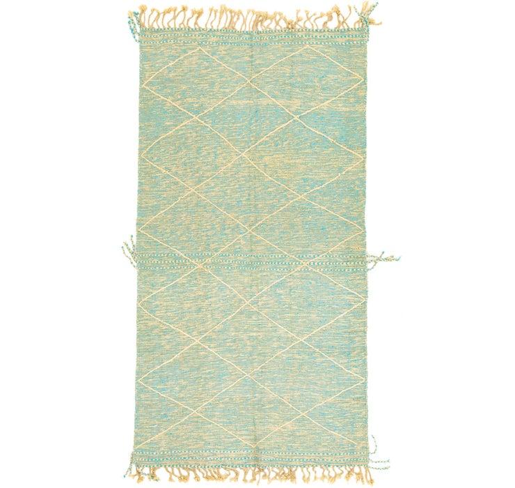 4' 8 x 8' 8 Moroccan Rug