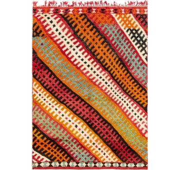 4' 10 x 7' Moroccan Rug main image
