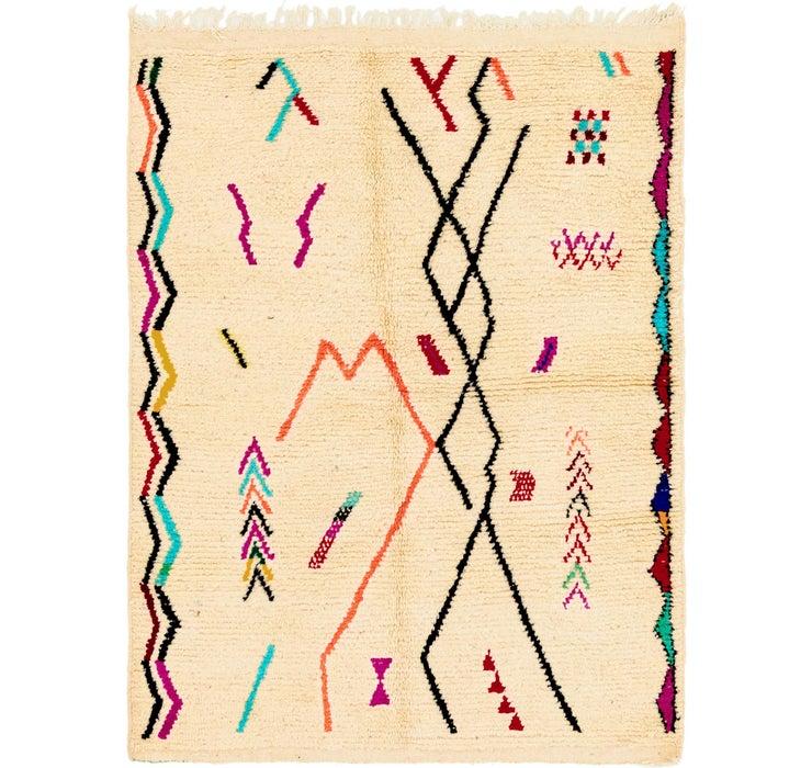 4' 9 x 6' 6 Moroccan Rug
