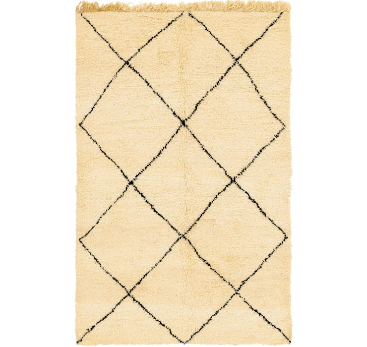 5' x 7' 9 Moroccan Rug