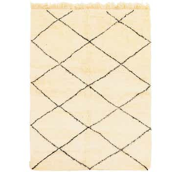 Image of 5' 1 x 7' 2 Moroccan Rug