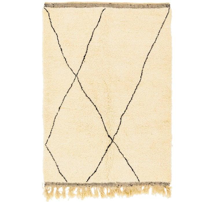 5' 2 x 8' 3 Moroccan Rug
