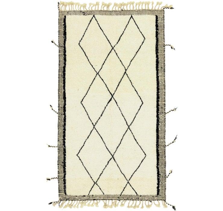 5' 1 x 8' 9 Moroccan Rug