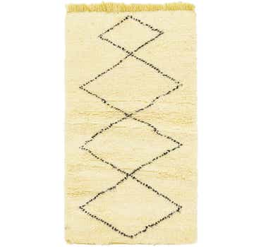2' 7 x 4' 10 Moroccan Rug