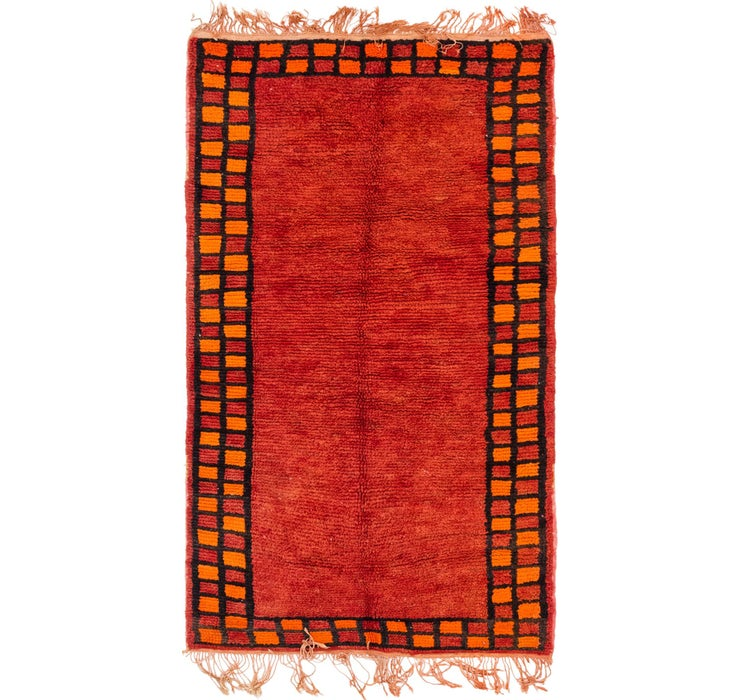 Image of 3' 3 x 5' 11 Moroccan Rug