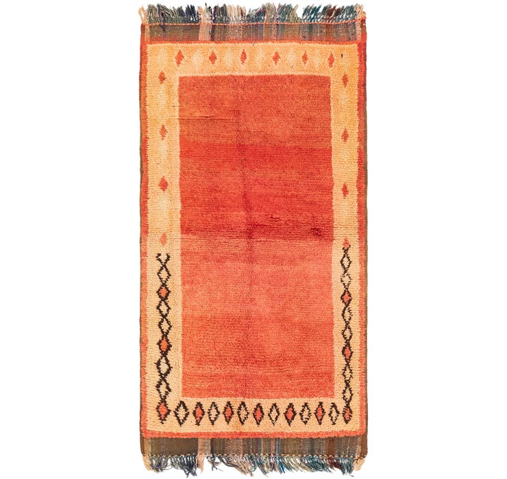 3' 6 x 6' 7 Moroccan Rug