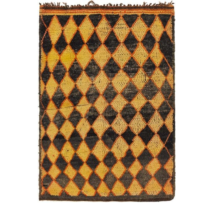 3' 7 x 5' 7 Moroccan Rug
