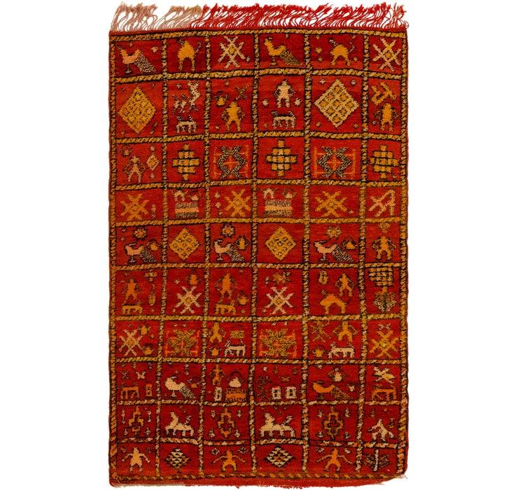 4' x 6' 7 Moroccan Rug