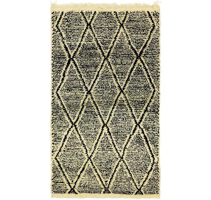 2' 11 x 5' 5 Moroccan Rug