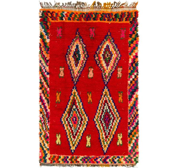 3' 10 x 6' Moroccan Rug