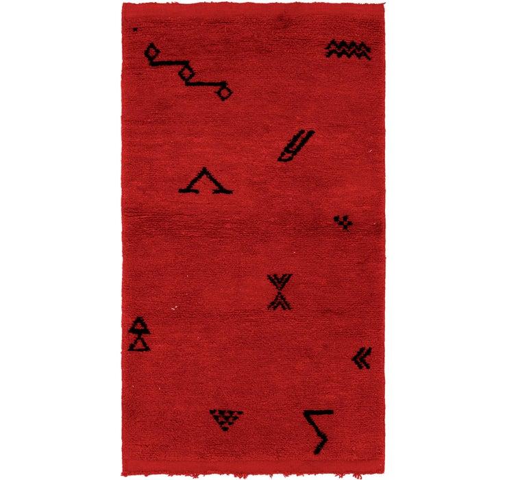 3' 5 x 6' 4 Moroccan Rug