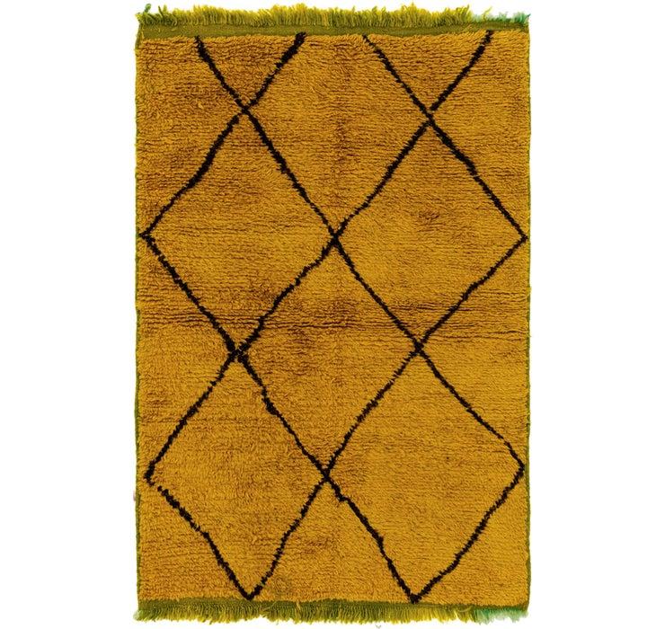 3' 4 x 5' 1 Moroccan Rug