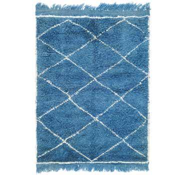 Image of 3' 4 x 4' 9 Moroccan Rug