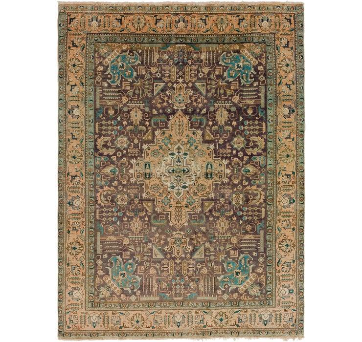 9' 5 x 13' Tabriz Persian Rug