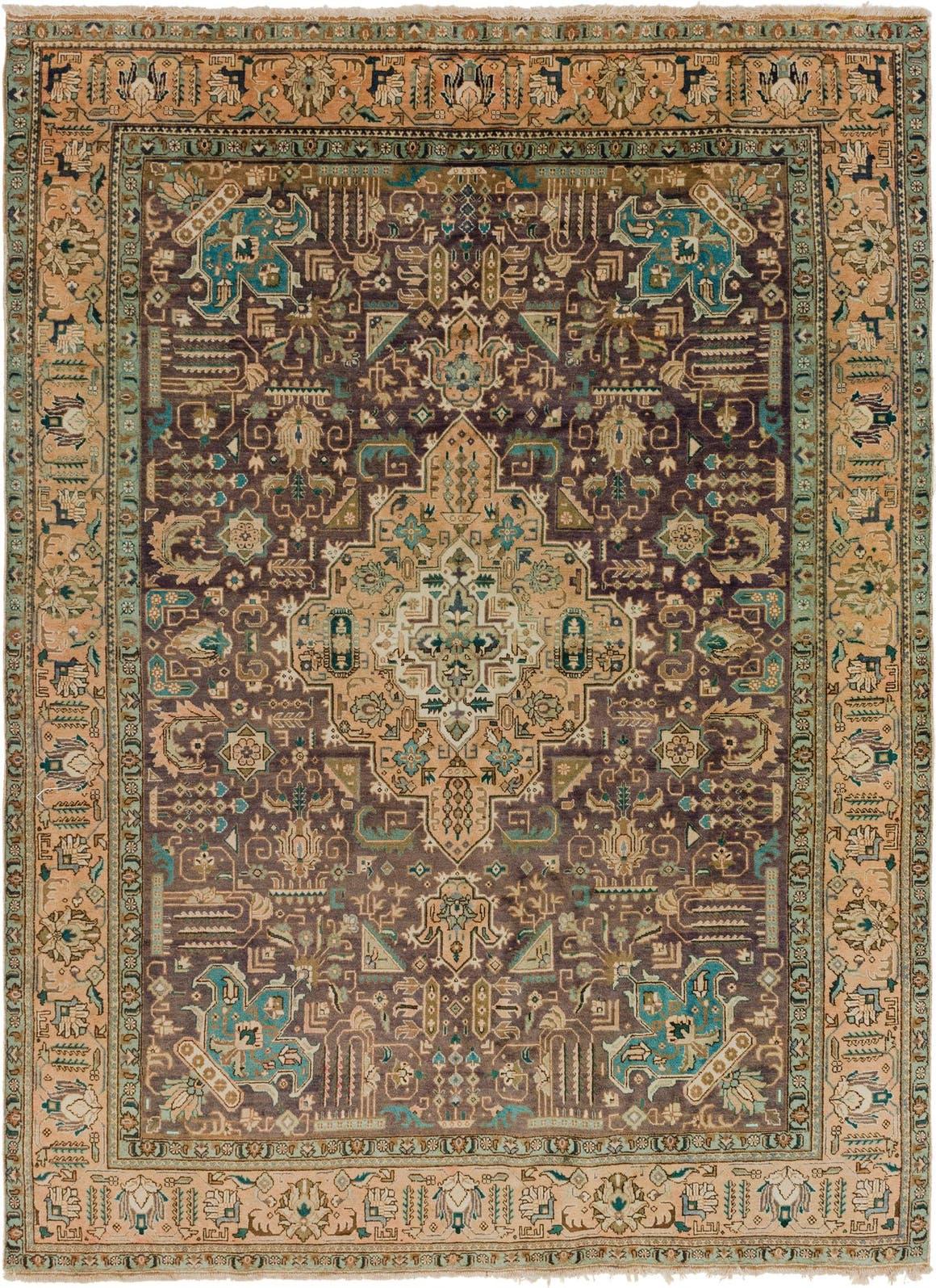 9' 5 x 13' Tabriz Persian Rug main image
