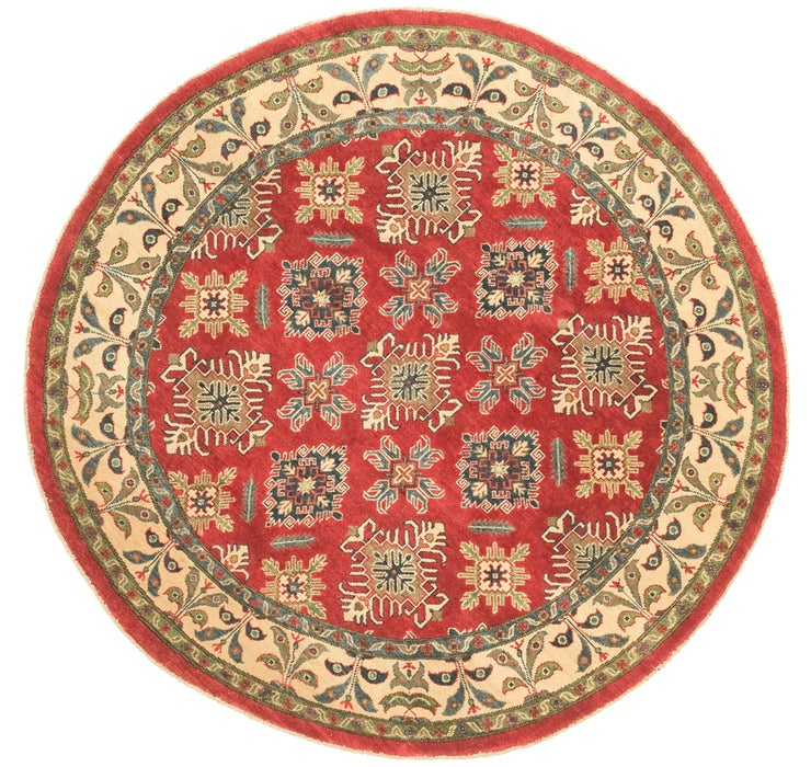 198cm x 200cm Kazak Round Rug