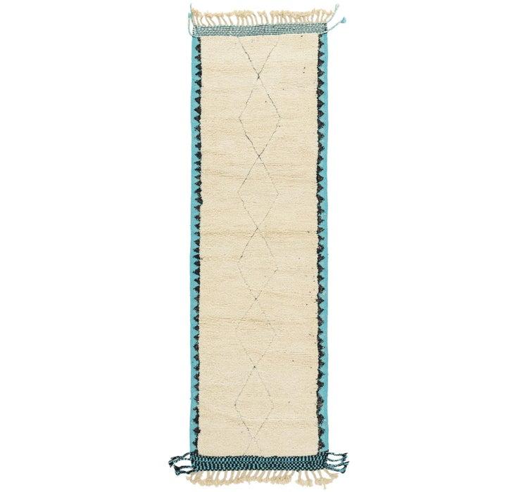 3' x 9' 3 Moroccan Runner Rug
