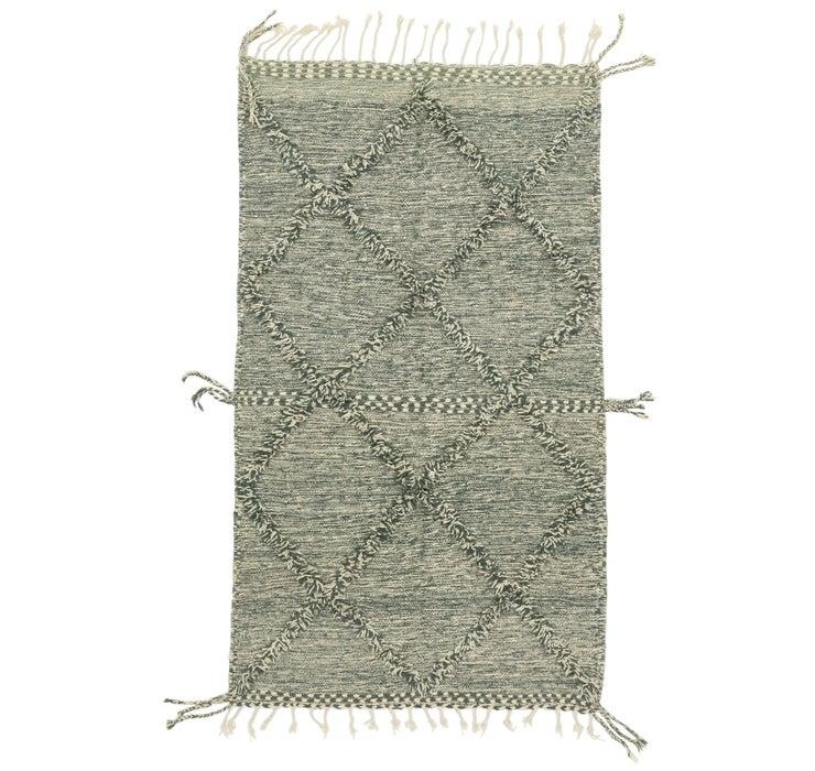 4' 3 x 7' 6 Moroccan Rug