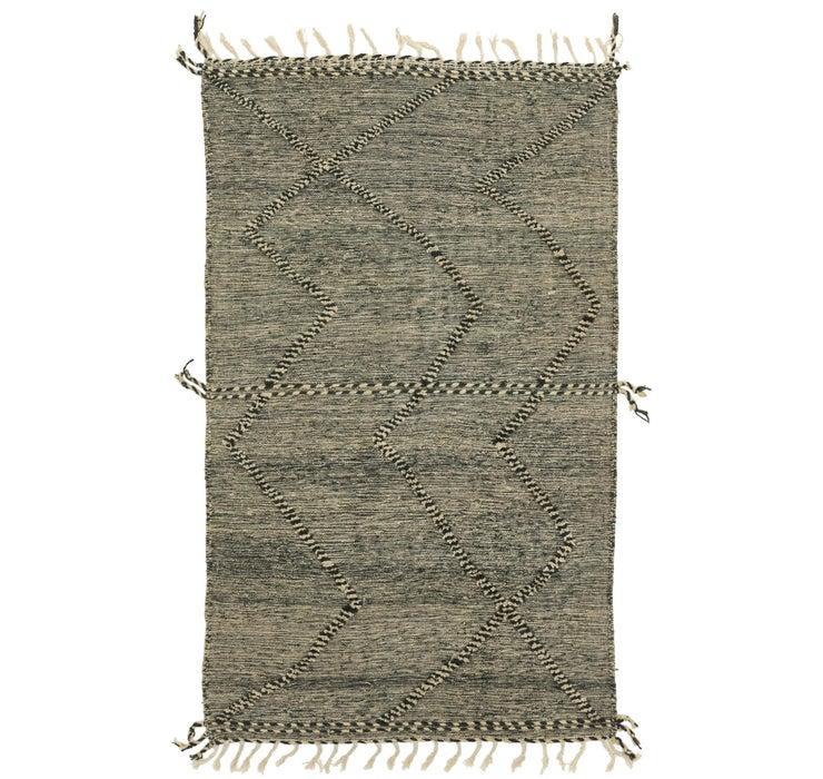4' 11 x 8' 4 Moroccan Rug