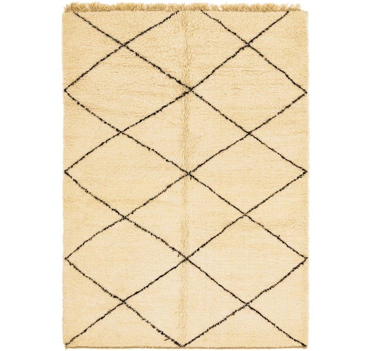 6' 7 x 9' 10 Moroccan Rug