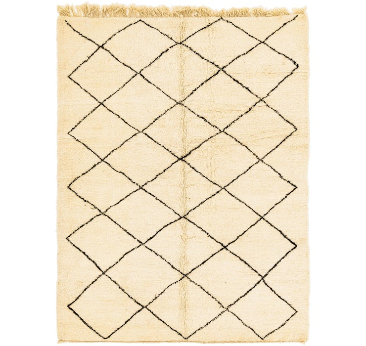 7' 2 x 9' 7 Moroccan Rug