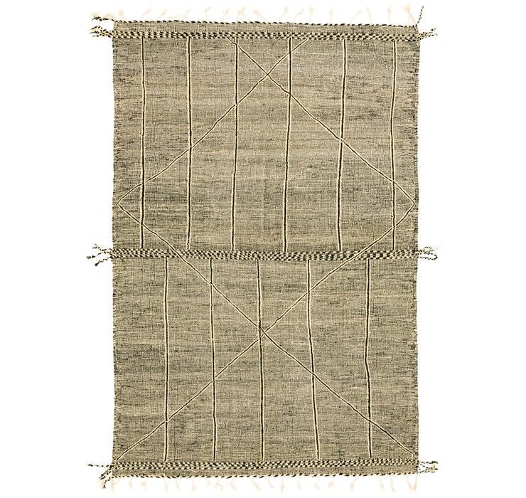 7' 9 x 11' 7 Moroccan Rug
