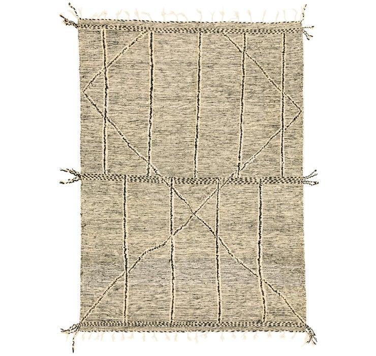 7' 9 x 11' 1 Moroccan Rug
