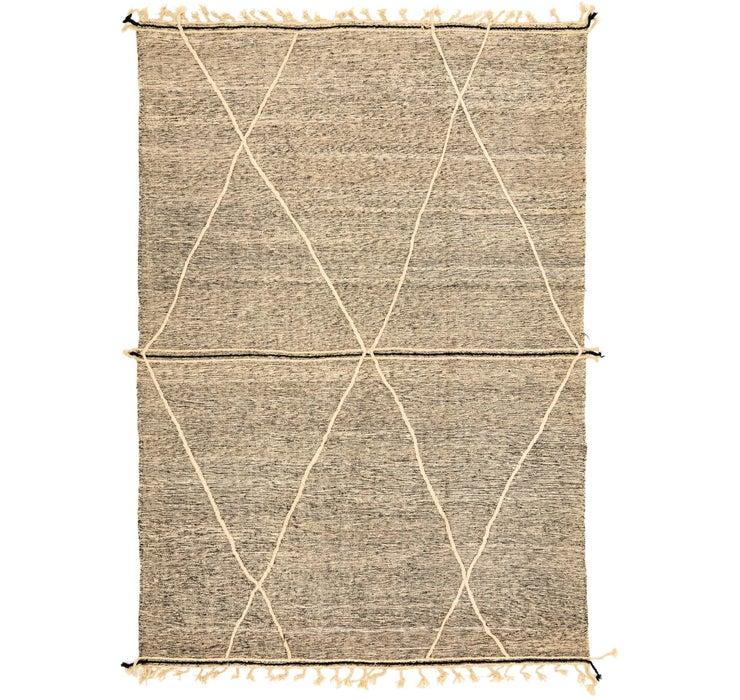 Image of 9' 2 x 13' 1 Moroccan Rug
