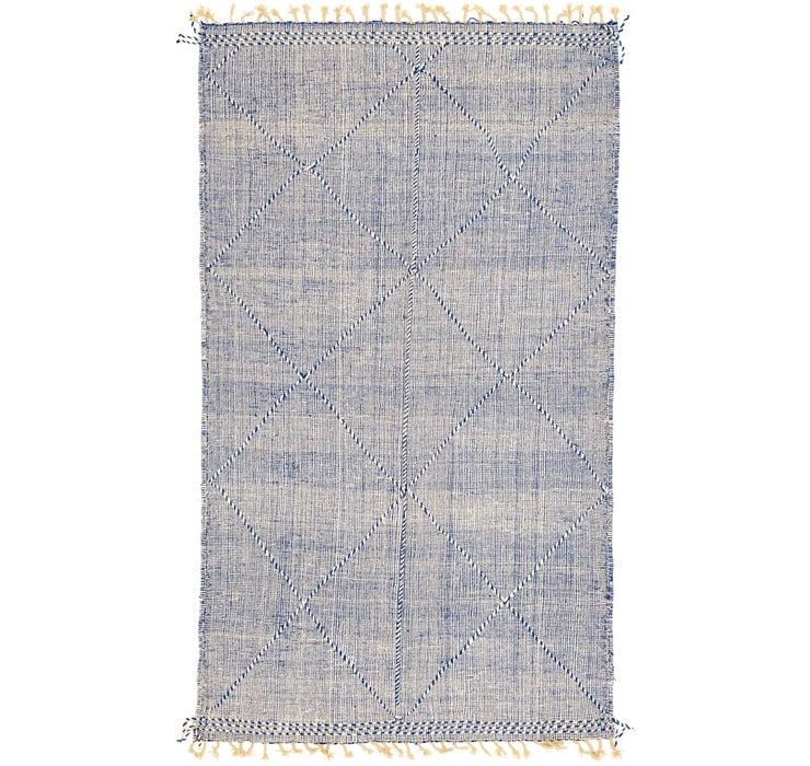 6' 4 x 11' 2 Moroccan Rug