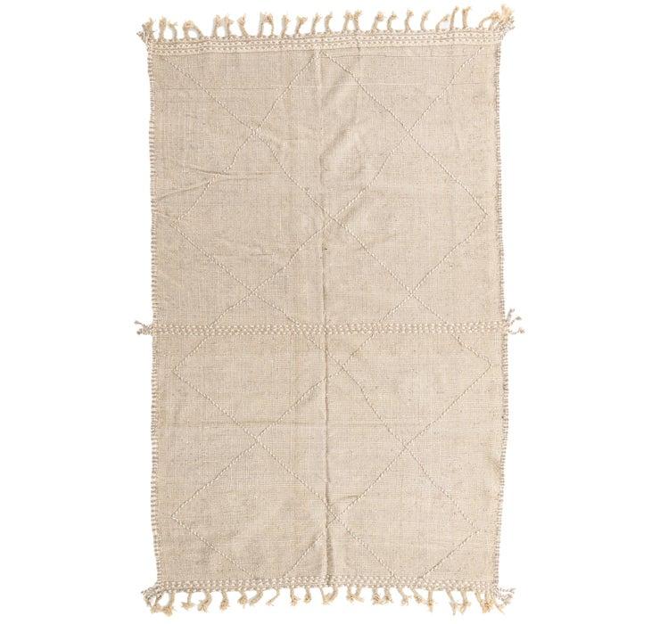 6' 9 x 10' 9 Moroccan Rug