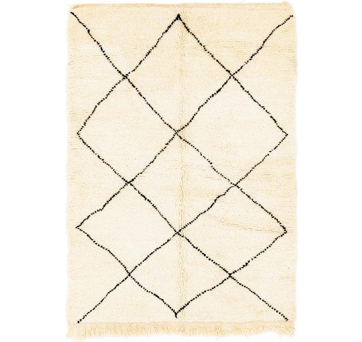 4' 9 x 6' 8 Moroccan Rug