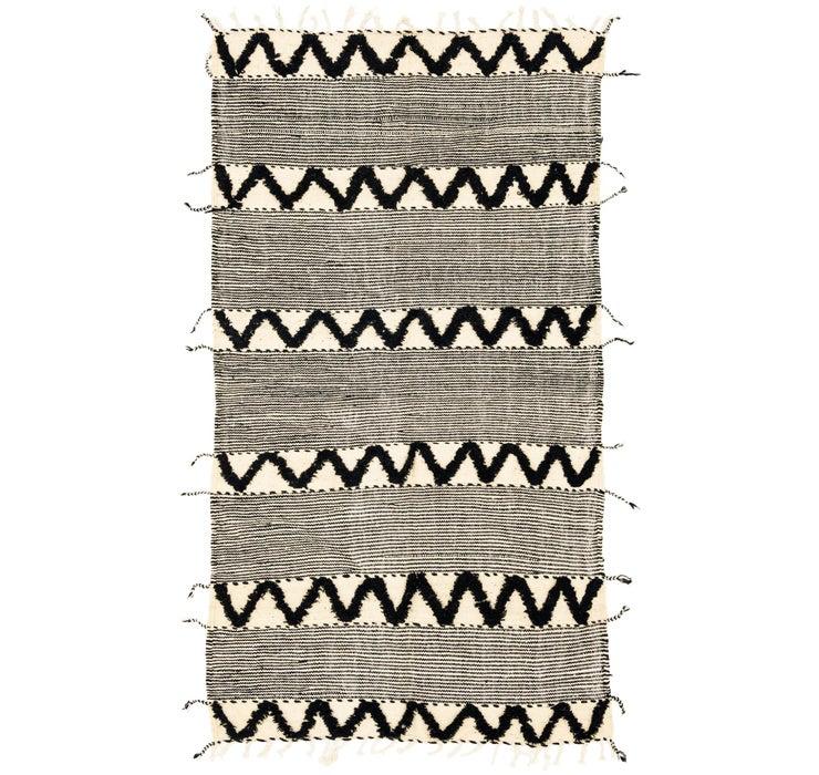 4' 5 x 8' 3 Moroccan Rug