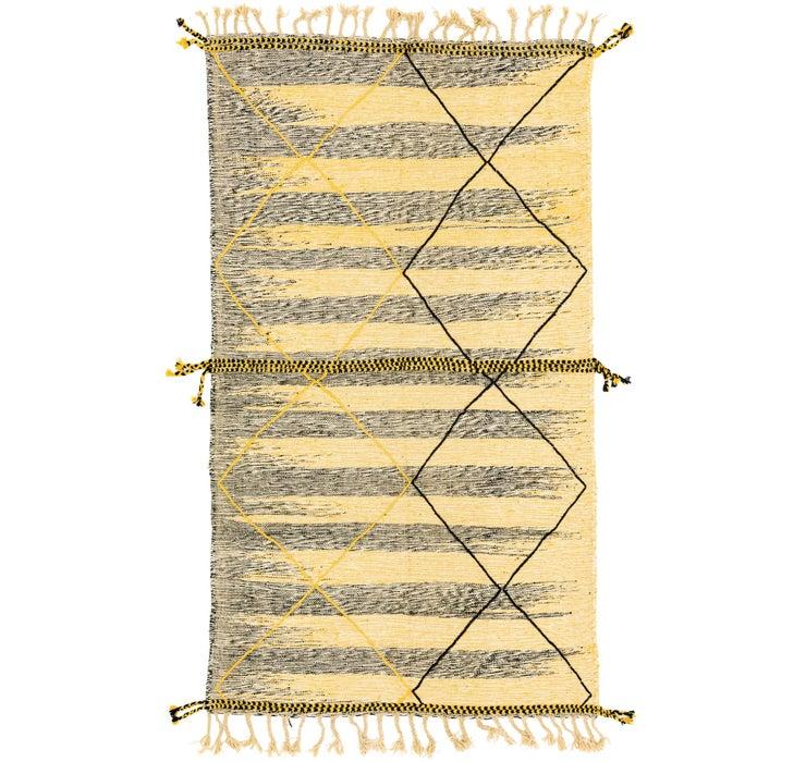 Image of 5' 1 x 9' Moroccan Rug