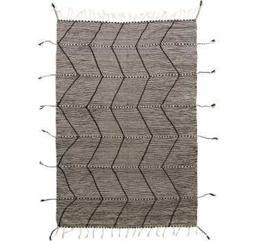 6' 7 x 9' 8 Moroccan Rug