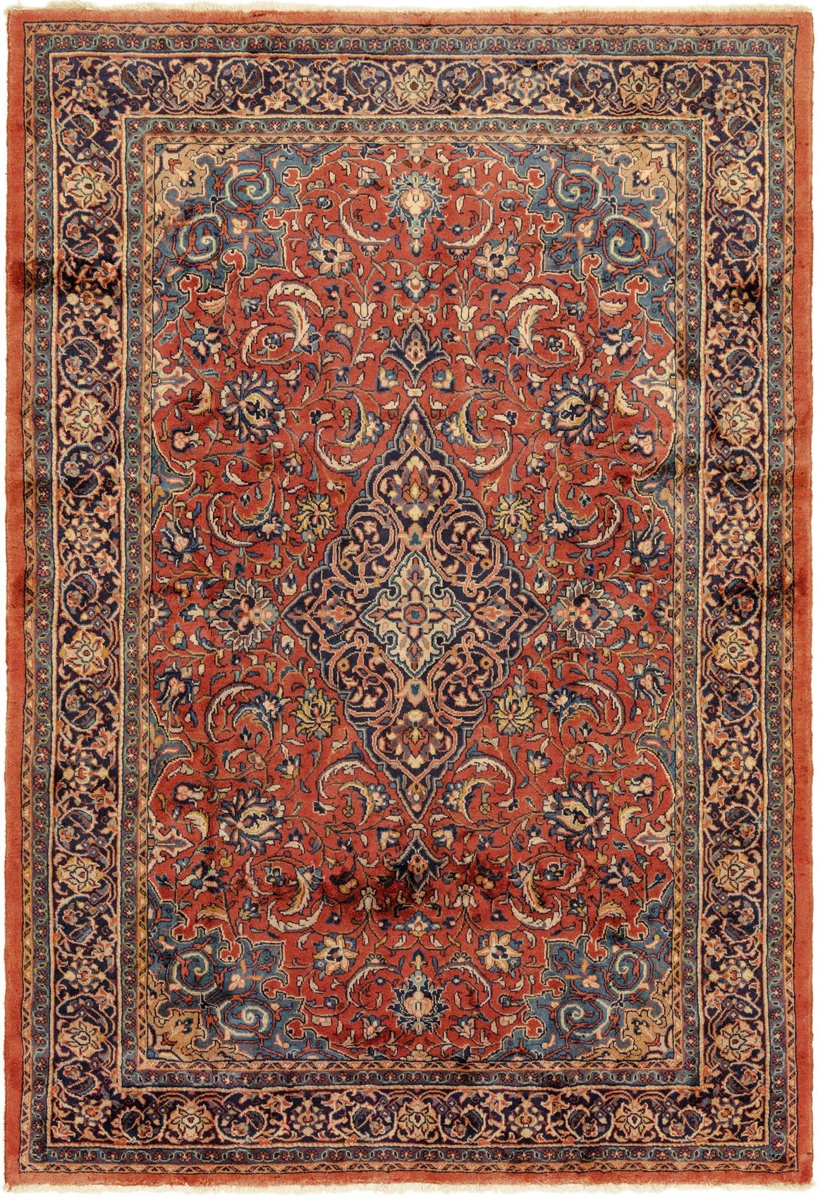 7' 5 x 10' 10 Sarough Persian Rug main image