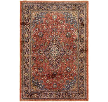 Image of 7' 5 x 10' 10 Sarough Persian Rug