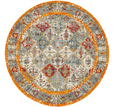 Image of 8' x 8' Venice Round Rug