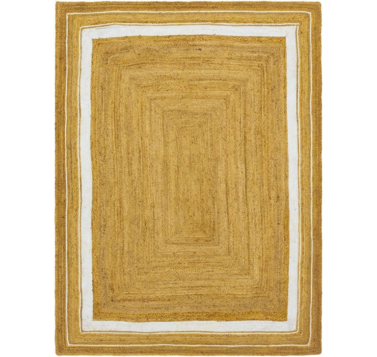 Image of 275cm x 365cm Braided Jute Rug