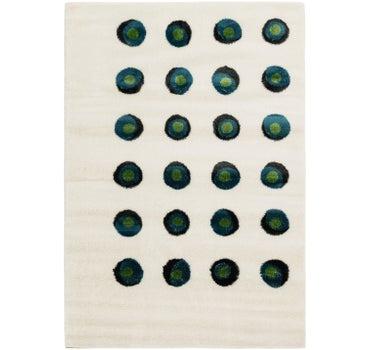 6' 7 x 9' 6 Abstract Shag Rug main image