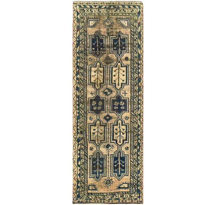 3' 7 x 11' 4 Shiraz Persian Runner Rug