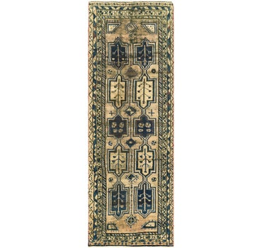 3' 7 x 11' 4 Shiraz Persian Runner Rug main image