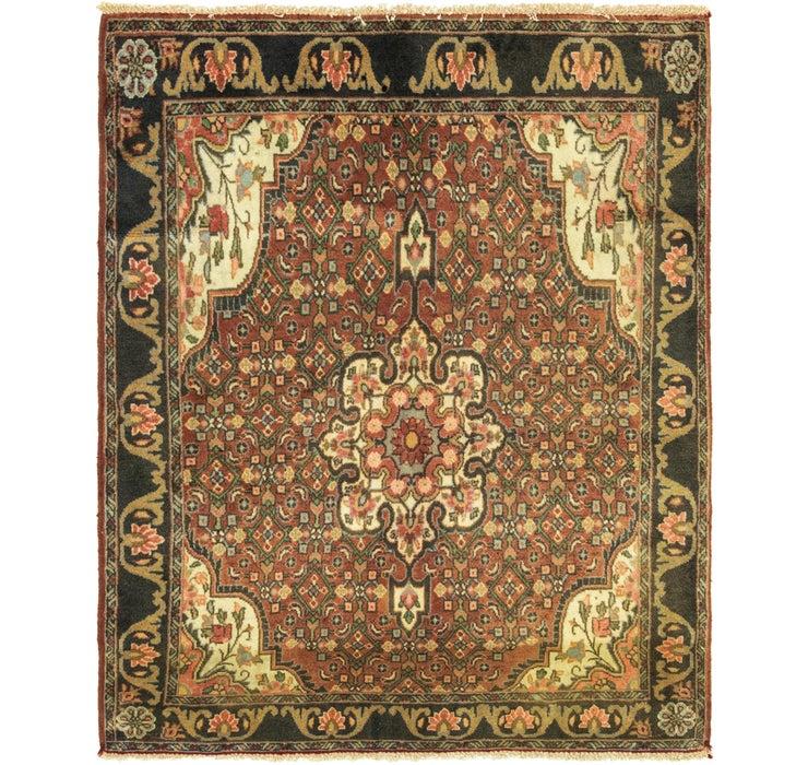 3' 6 x 4' 3 Bidjar Persian Square Rug
