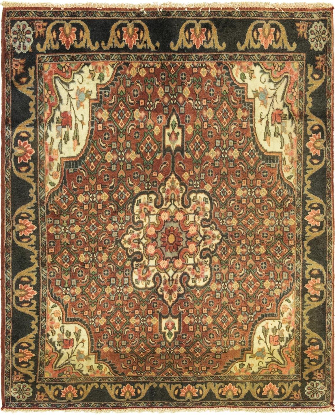 3' 6 x 4' 3 Bidjar Persian Square Rug main image