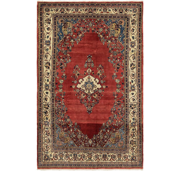 6' 9 x 10' 10 Shahrbaft Persian Rug