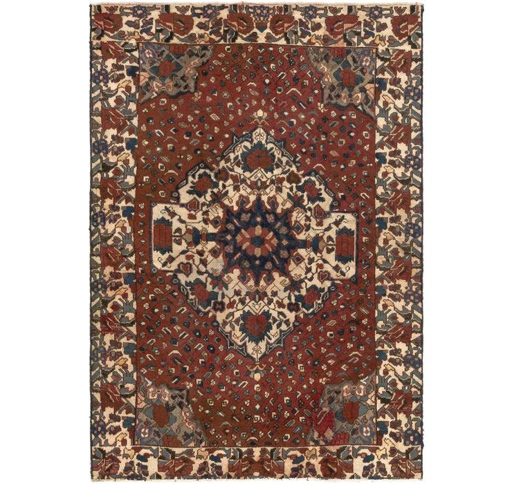4' 6 x 6' 6 Bakhtiar Persian Rug