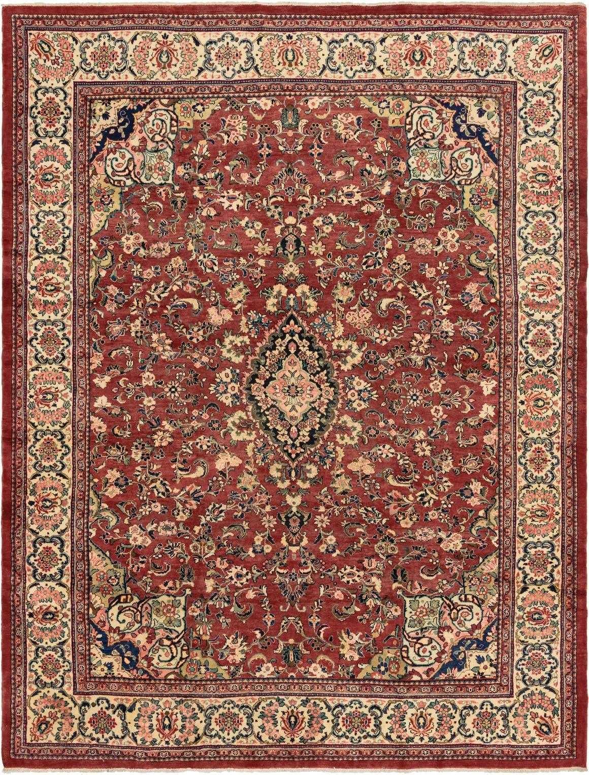 10' 5 x 14' Meshkabad Persian Rug main image