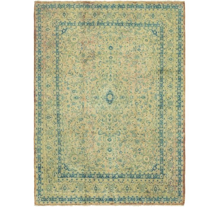9' 6 x 12' 10 Mashad Persian Rug